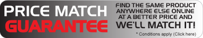 Price Match Guarantee - click here for details