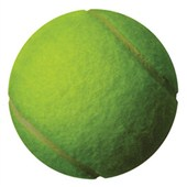 Tennis Ball Car Magnet