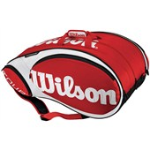 Wilson Tour 15-Pack Red/White