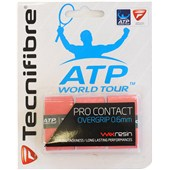 Tecnifibre ATP Pro Contact Overgrip 3-Pack Red