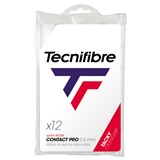 Tecnifibre ATP Pro Contact Overgrip 12-Pack White