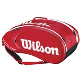 Wilson Tour Molded 2.0 9PK Bag Red