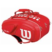 Wilson Tour V 15 Pack Bag Red