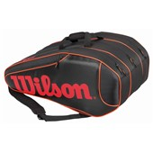 Wilson Burn Team 12 Pack Bag Black/Red