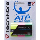 Tecnifibre ATP Pro Contact Overgrip 3-Pack Assorted Colours