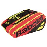 Babolat Racket Holder X12 Pure Decima Black/Red/Yellow (2018)