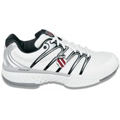 K-Swiss Bigshot Mens White/Silver/Black