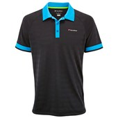 Tecnifibre Mens F3 X-Cool Polo Black/Blue
