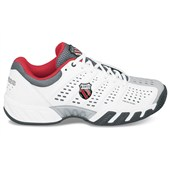 K-Swiss Bigshot Light Mens White/Black/Red