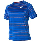 Asics Club Graphic Short Sleeve Tee - Air Force Blue