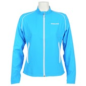 Babolat Girls Match Core Jacket - Turquoise Blue