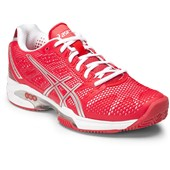 Asics Gel-Solution Speed 2 Women Clay Hibiscus/Silver/White