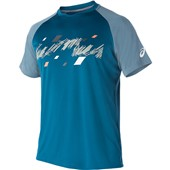 Asics Club Graphic Short Sleeve Tee - Ink Blue