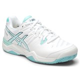 Asics Gel-Challenger 10 Clay Women White/Crystal Blue