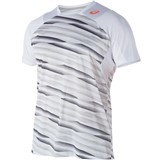 Asics Athlete Short Sleeve Top - High Rally White