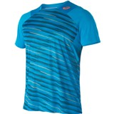 Asics Athlete Short Sleeve Top - High Rally Blue Jewel