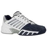 K-Swiss Mens Bigshot Light 3 - White/Navy