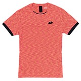 Lotto Mens Space Tee - Rose Neon