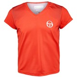 Sergio Tacchini Girls Wave T-Shirt - Tiger/White