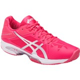 Asics Gel-Solution Speed 3 Women Clay Rouge Red/Silver/White