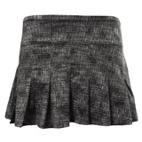 "EleVen Flutter Skirt 14"" - Black Tribal"