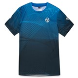 Sergio Tacchini Boys Accel T-Shirt - Navy/White/Regal Blue