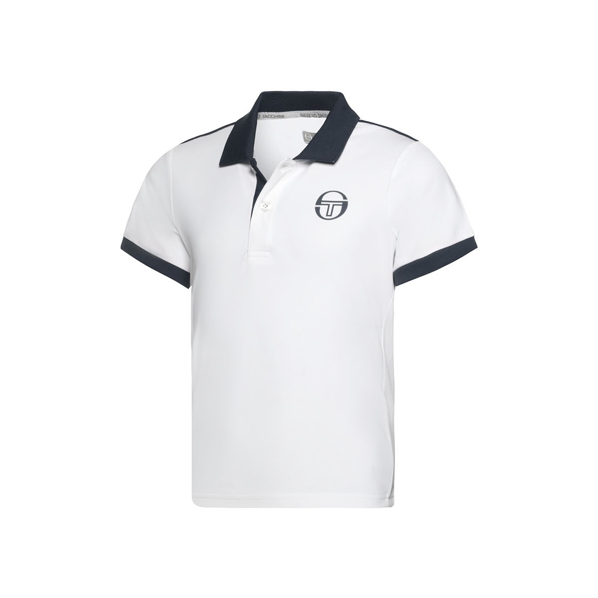 a3935d39 ... Sergio Tacchini New Polo Young Line Archivio White/Navy | eBay; Boys ...
