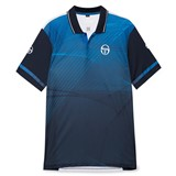 Sergio Tacchini Mens Accel Polo - Navy/White/Regal Blue