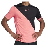 NikeCourt Zonal Cooling Challenger Top - Black/Pink