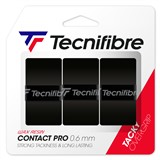 Tecnifibre ATP Pro Contact Overgrip 3-Pack Black