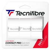 Tecnifibre ATP Pro Contact Overgrip 3-Pack White