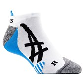 Asics Womens Tennis Ped Sock Blue Size 5-7