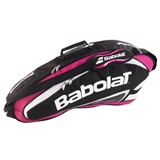 Babolat Team Line Racket Holder X3 - Pink