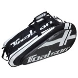 Toalson 9-Racquet Bag - Black