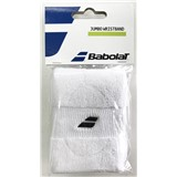 Babolat Jumbo Wristbands 2-Pack - White