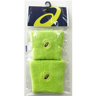 Asics Wrist Band 2-Pack Safety Yellow