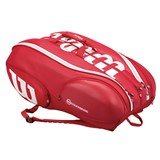 Wilson Pro Staff Vancouver 15 Pack Bag Red