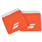 Babolat Logo Wristband 2-Pack - Flame Orange