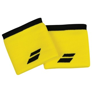 Babolat Logo Wristband 2-Pack - Blazing Yellow