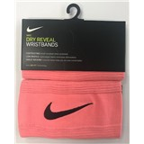 Nike Dry Reveal Wristbands - Pink/Black