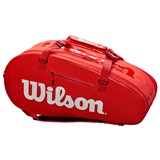 Wilson Super Tour 2 Comp Large 9PK Infrared