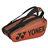 Yonex Pro Racquet Bag 9-Racquets - Copper Orange