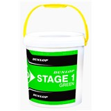 Dunlop Stage 1 Green - Tub of 60 balls