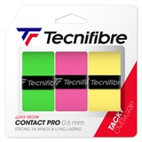 Tecnifibre ATP Contact Pro Overgrip 3-Pack Assorted Colours