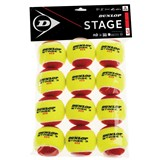 Dunlop Stage 3 Red - 12-Ball Polybag