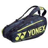 Yonex Pro Racquet Bag 6-Racquets - Black/Yellow
