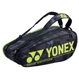 Yonex Pro Racquet Bag 9-Racquets - Black/Yellow