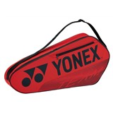 Yonex Team 3-Racquet Bag - Red (2021)