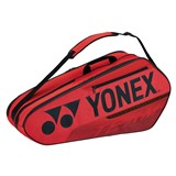 Yonex Team 6-Racquet Bag - Red (2021)
