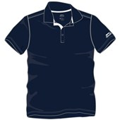 Slazenger Boys Essential Short Sleeve Polo - Navy